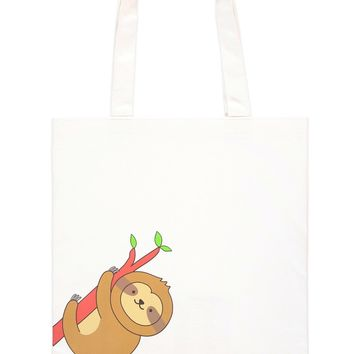 Sloth Graphic Tote Bag