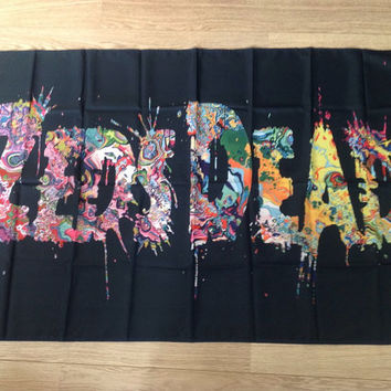 Zeds Dead Trip Words Flag (Customize it!)