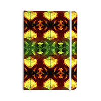 "Anne LaBrie ""Tribal Marsala"" Red Yellow Everything Notebook"