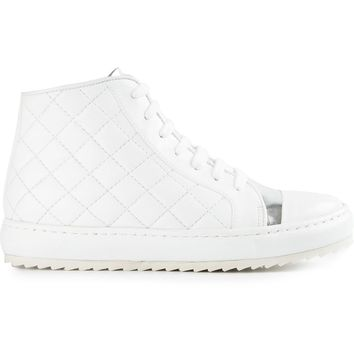 Thakoon Addition quilted hi-top sneakers