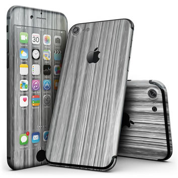 Textured Gray Dyed Surface - 4-Piece Skin Kit for the iPhone 7 or 7 Plus