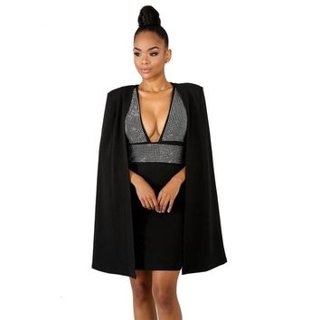 The Cloaked Queen Dress