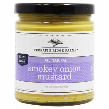 Smokey Onion Mustard by Terrapin Ridge Farms 8.5 oz