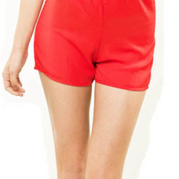 Simply Chic Shorts - Red Ed