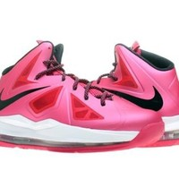 Nike Lebron X (GS) Girls Basketball Shoes 543564-600 Fireberry 7 M US