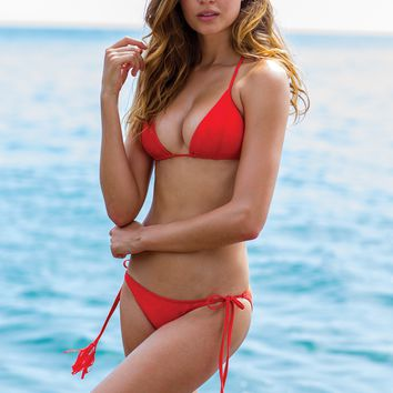 Sauvage Swimwear - Red Calypso Bikini Set