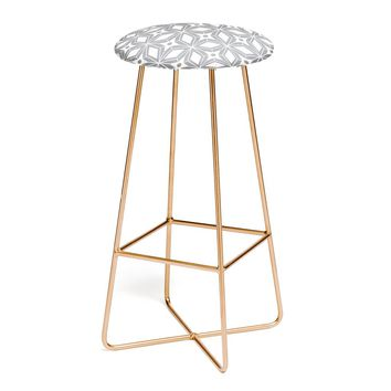 Heather Dutton Starbust Grey Bar Stool