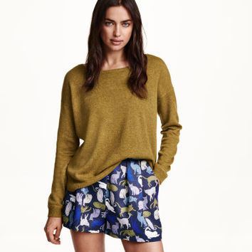 H&M Patterned Shorts $17.99
