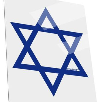 Jewish Star of David Metal Panel Wall Art Portrait - Choose Size by TooLoud