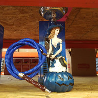 Blue Witch Hookah Piece