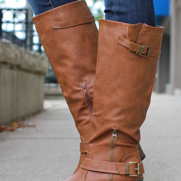Calling of Harvest Boot - Cognac
