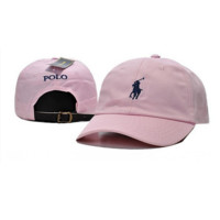 Cool Pink Polo Baseball Cap Hat