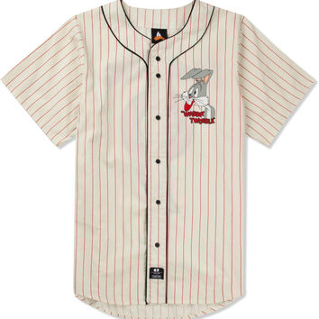 Lazy Oaf x Looney Tunes Bugsball Baseball Shirt