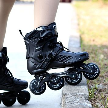 Professional Slalom Slide Freestyle Inline Skates for Adult Kids Men Women for Racing Free Skating Bursh Street Patines SH50