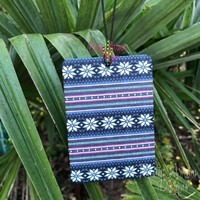 Snowflakes and Stripes Highly Scented Air Freshener