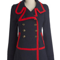 Seaside Salutations Coat