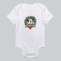 Baby bodysuit Mickey Mouse Merry Christmast cute  One Piece Onesuit