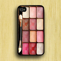 iPhone 4 case iPhone 4s case - Eyeshadow Makeup Set iPhone Case