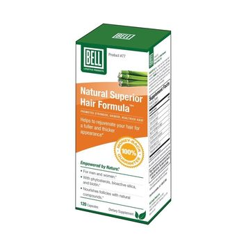 Bell Lifestyle Products Natural Superior Hair Formula 625 mg - 120 Capsules