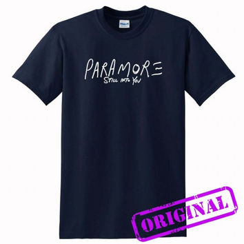 paramore still into you for shirt navy, tshirt navy unisex adult