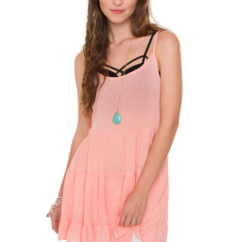 Beatriz Dress - Light Coral