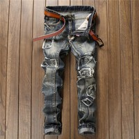 Men Hot Sale Vintage Pants Jeans [10766087939]