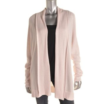 NYDJ Womens Knit Long Sleeves Cardigan Sweater