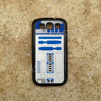 R2D2 Galaxy S3 Cases - Custom Samsung Galaxy S3 Cover - Vintage Starwars - Best Top Accessories for Samsung S iii - Hard Protective Case
