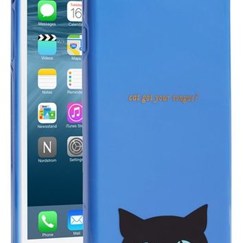 kate spade new york 'cat' iPhone 6 Plus case - Blue