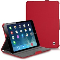 CaseCrown Ace Flip Case (Red) for Apple iPad Mini 3 / Apple iPad Mini / iPad Mini with Retina Display Tablets (Built-in magnet for sleep / wake feature)