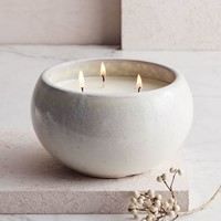 Reactive Glaze Scented Candle