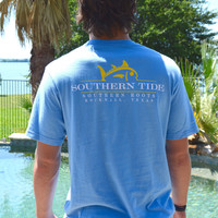 Southern Tide Southern Roots Custom Tee- Ocean Channel