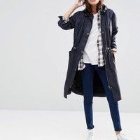 ASOS Wax Fisherman Rain Mac