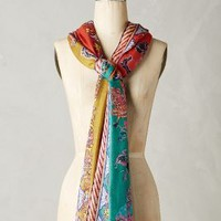 Melide Scarf by Anthropologie Orange One Size Scarves