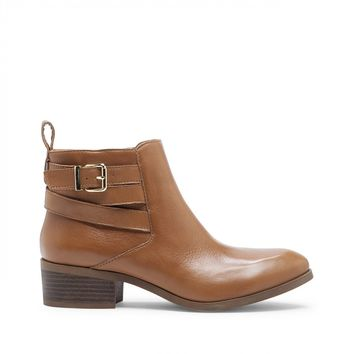 Sole Society Hala Buckled Bootie