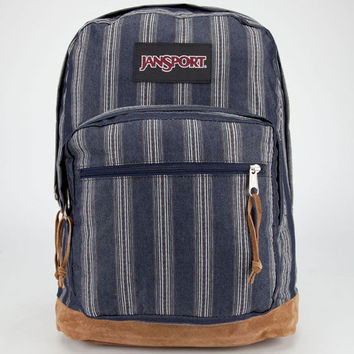 Jansport Right Pack Expressions Backpack Neutral Multi Denim Stripe One Size For Men 23837780001