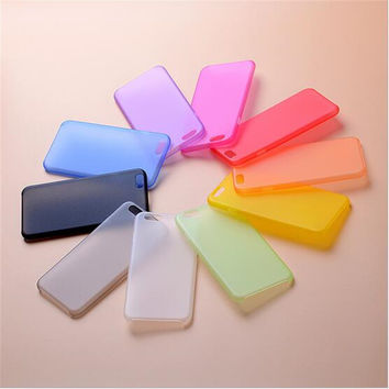 "Hot Sale Soft Plastic Matte Case Cover Protector For Apple iPhone 4 4S 5 5S 5C 6 6S 4.7""6Plus 7 7Plus Mobile Phone case"