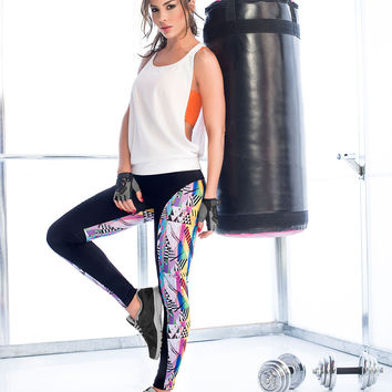 Women's Full Length Activewear Leggings From Colombia