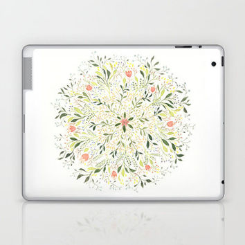 Flower Burst Laptop & iPad Skin by Charmaine Olivia