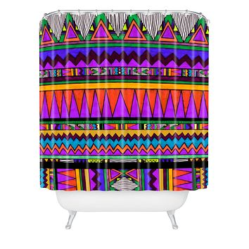 Kris Tate Cotzal 1 Shower Curtain