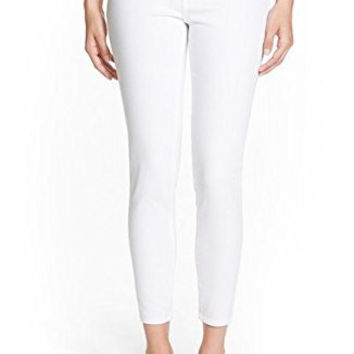 Treasure & Bond Stretch Skinny Jean White Denim