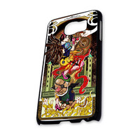 Walt Disney Steampunk Snow White Apple Glas Painting Gun Samsung Galaxy S6 Case