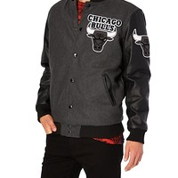 Chicago Bulls Wool Bomber Jacket