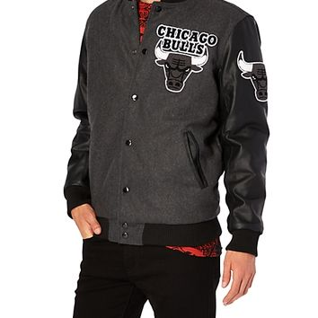 chicago bulls wool bomber jacket from rue21 nba mvp. Black Bedroom Furniture Sets. Home Design Ideas