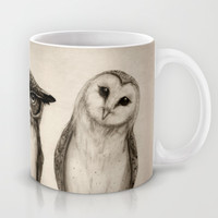 The Owl's 3 Mug by Isaiah K. Stephens