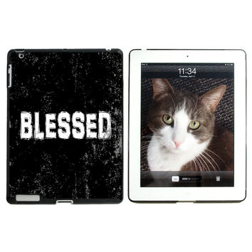 Blessed Distressed - Christian Religious Inspirational Apple iPad Case