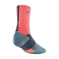 Nike KD Hyper Elite Crew Basketball Socks - Bright Mango
