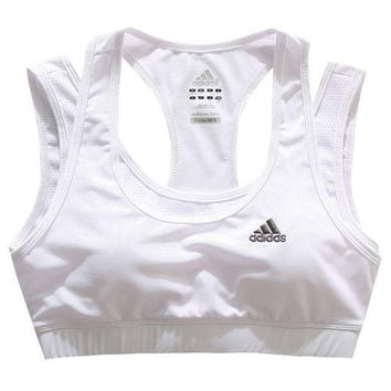 Adidas Women Sports Bra Yoga Tennis Training Vest Tank Top Cami