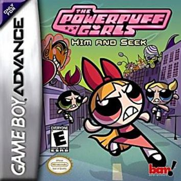 Powerpuff Girls Him and Seek Nintendo Game Boy Advance Game