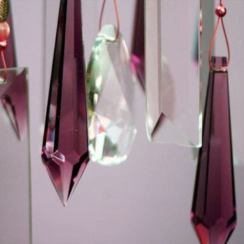 Crystal Windchimes Mother Earth Indoor / by natureinspiredcrafts